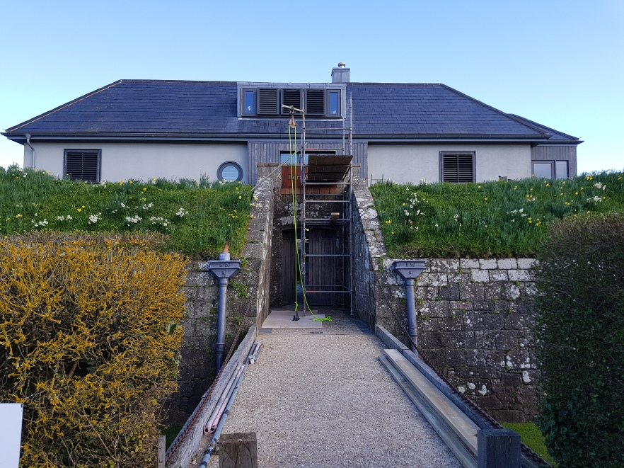 BACK OF HOUSE - FORT WILLIAM