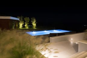 POOL LIGHTING, NIGHT- LE SCAINE